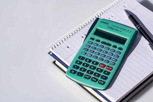 Taschenrechner zur Kalkulation