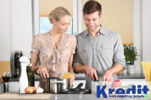 Kredit trotz negativer Schufa und Hausfrau